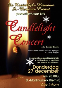 Affiche Candlelight Concert 2012
