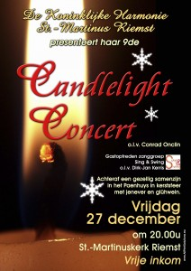 Affiche Candlelight Concert 2013