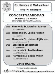 concertnamiddag 16032014