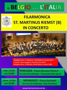 Affiche Concertreis Italiaans